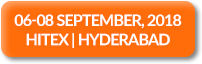 06-08 September, 2018 | HITEX | Hyderabad