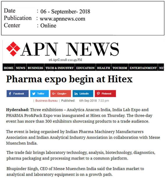 Coverage | IndiaLabExpo